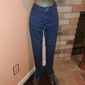 Pre-Owned Ankle Denim Jeans